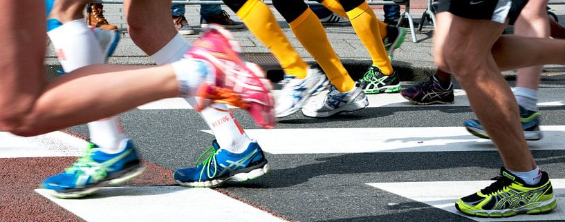 Marathon Rotterdam  van Anuska Klaverdijk