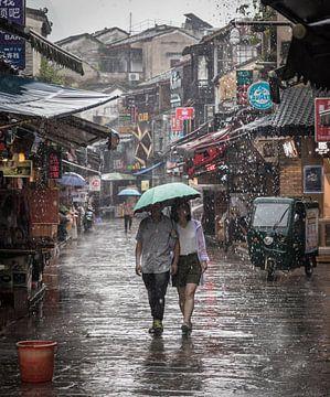 Ein regnerischer Tag in Yangshuo (China) von Claudio Duarte