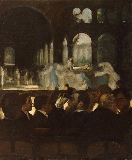 Het Ballet van 'Robert le Diable', Edgar Degas van Meesterlijcke Meesters