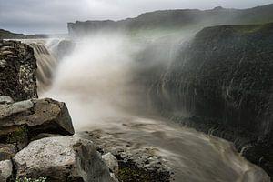 Dettifoss de vallende waterval