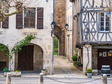 Fourcès, dorpje in de Gers in Frankrijk van Martijn Joosse