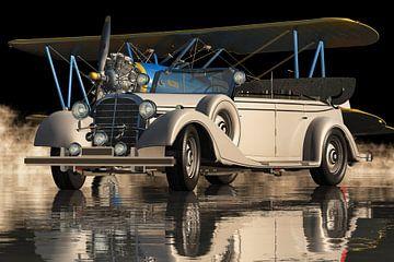 Mercedes 770 K Limousine uit 1938 Elegance On Top van Jan Keteleer