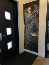Kundenfoto: Königin Elizabeth von Bourbon, auf nahtloser fototapete