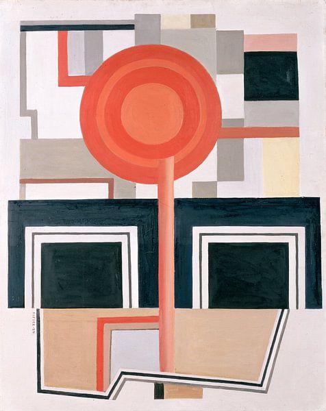 Komposition, Fernand Leger von The Masters