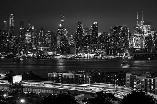 Skyline Manhattan  New York van