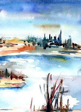Landschaftlich von Claudia Gründler