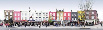 London Camden Market Panorama von Panorama Streetline