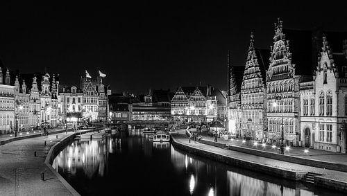 Gent, Belgie von Jaap van Lenthe