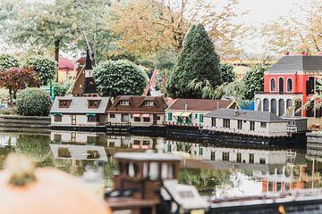 Miniatuur stad van Mêgan Nauta