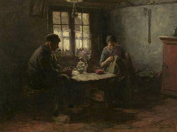 Rustig uurtje, Hendrik Valkenburg van Meesterlijcke Meesters