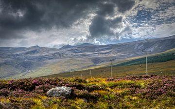 Nördliche schottische Highlands von Mart Houtman