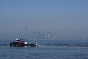 Manhattan waking up