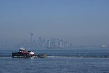 Manhattan waking up van Victor de Reuver