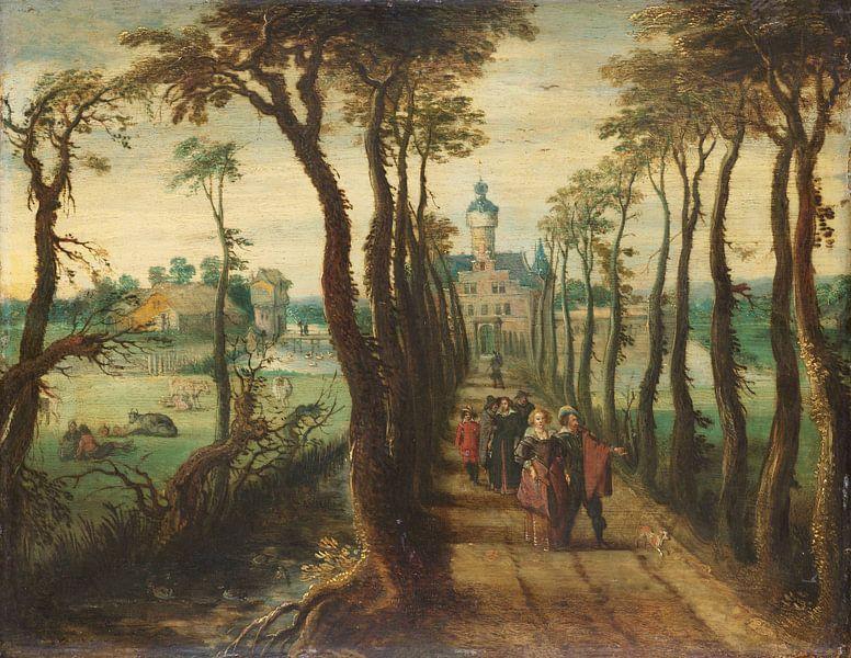 Der Kutschenweg, Sebastiaan Vrancx von Meesterlijcke Meesters