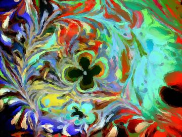 Bloemenzee II van Maurice Dawson