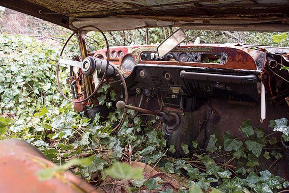 Urbex - Verlaten auto van Tim Vlielander
