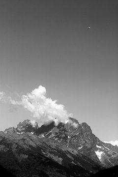Gleitschirmfliegen in den französischen Alpen von E Blaas