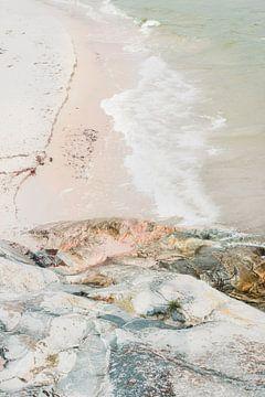 Golven en rotsen van Pascal Deckarm
