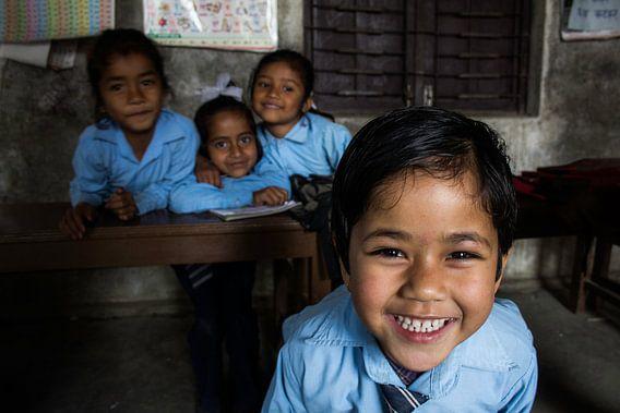 kids in Nepal