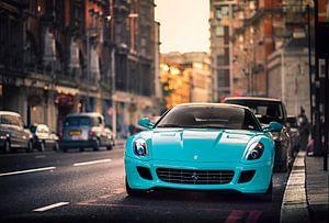 Ferrari 599 GTB Fiorano in Londen van