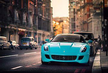Ferrari 599 GTB Fiorano in Londen von Ansho Bijlmakers