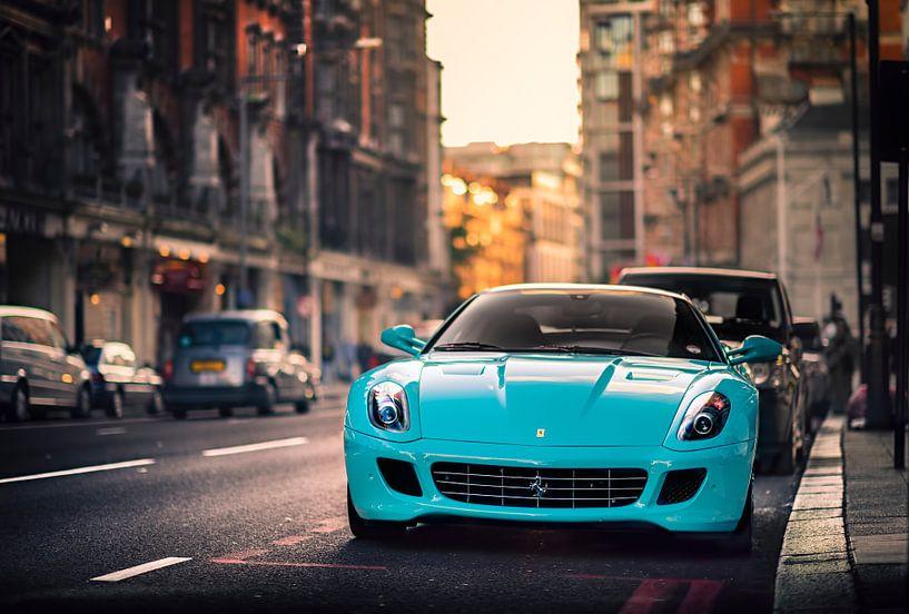 Ferrari 599 GTB Fiorano in Londen van Ansho Bijlmakers