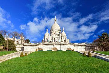 Sacre Coeur Parijs lente van Dennis van de Water