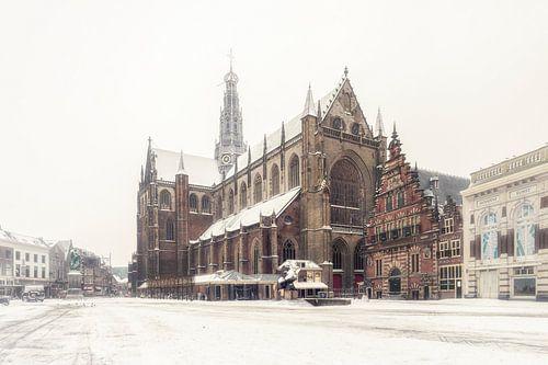 Haarlem: de Bavo en de sneeuw. van Olaf Kramer