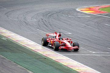 Ferrari F1 2008 van