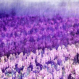 Purple Rain van Paula van den Akker