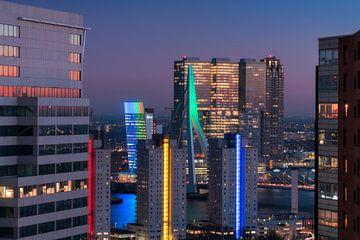 Erasmusbrug Rotterdam WTC von Vincent Fennis