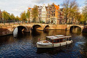 Grachten in Amsterdam van Kevin Nugter