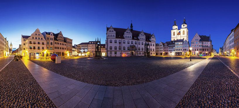Luther City Wittenberg -Panorama sur Frank Herrmann