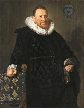 Portrait de Nicolaes van der Meer, Frans Hals sur