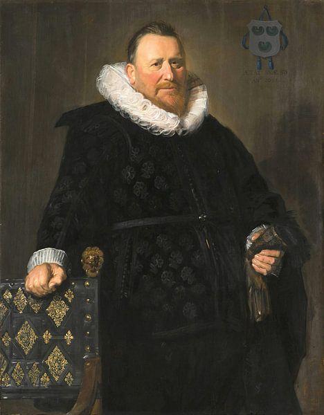 Porträt von Nicolaes van der Meer, Frans Hals von Meesterlijcke Meesters