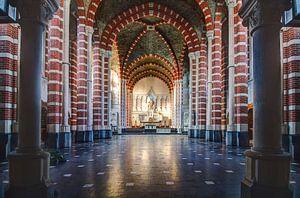 Kleurrijke kerk van