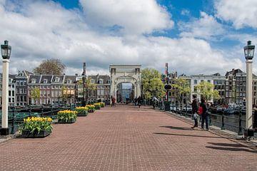 Magere brug Amsterdam van Peter Bartelings