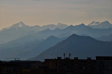 Turin rountain range van ilja van rijswijk