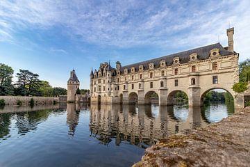 Kasteel van Chenonceau, Frankrijk.. van Patrick Löbler