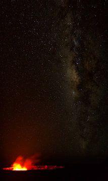 Halemaumau Krater, Kilauea von Dirk Rüter
