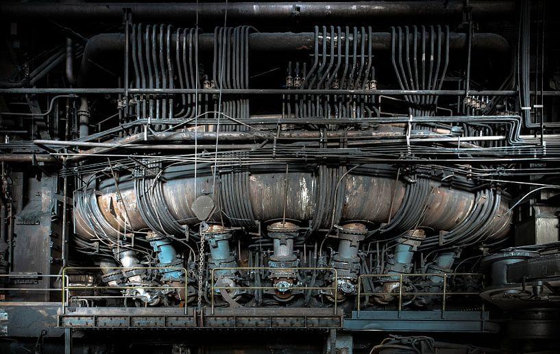 Blast furnace van Olivier Van Cauwelaert