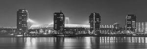 """Feyenoord Stadion """"De Kuip"""" 2017 in Rotterdam (formaat 3/1)"""