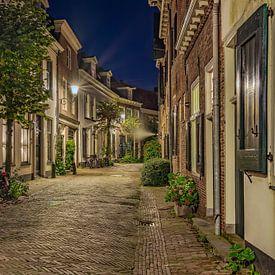 De Muurhuizen Amersfoort in de nacht van Dennisart Fotografie