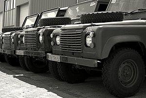 Landrovers van