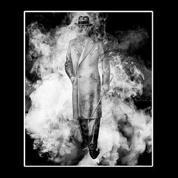 Man in de wolken - 3 van Veerle Van den Langenbergh