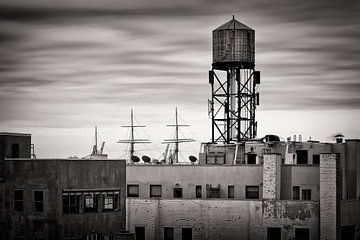 Schwarzweiss-Fotografie: New York Skyline von Alexander Voss
