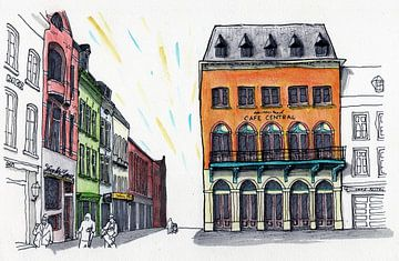 Venlo Centrum, Café Central 2020 van BFQ