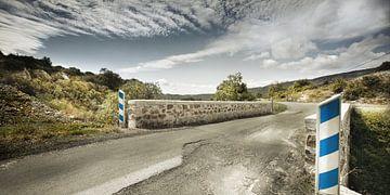 Verlaten weg in het Franse binnenland von Everards Photography