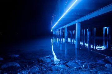 Lightning Pier van Floor Boers