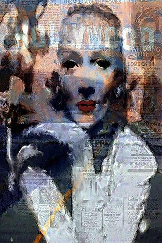 Marlene Dietrich Marlene Dietrich Pop Art